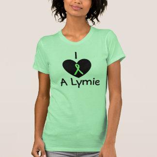 """I Love a Lymie"" Lyme Disease Awareness Tshirt"