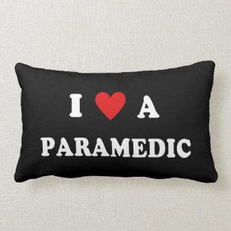 I Love a Paramedic Lumbar Pillow