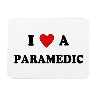 I Love a Paramedic Magnet