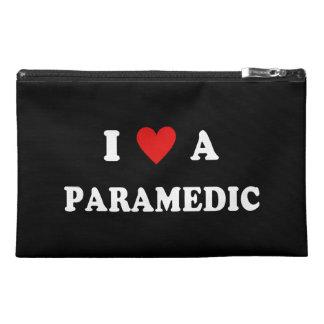 I Love a Paramedic Travel Accessory Bag