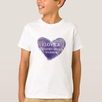 I love a pediatric stroke warrior Youth tshirt
