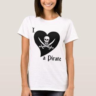 I Love a Pirate T-Shirt