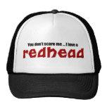 I Love a Redhead Trucker Hat