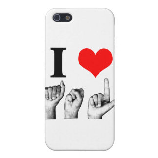I Love A-S-L (2) Cover For iPhone SE/5/5s