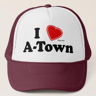 I Love A-Town Trucker Hat