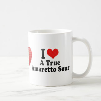 I Love A True+Amaretto Sour Coffee Mug