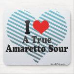 I Love A True+Amaretto Sour Mouse Pad
