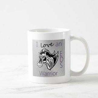 I love a warrior.png coffee mug