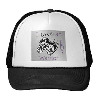 I love a warrior.png trucker hat