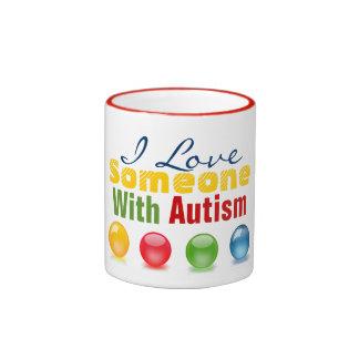 I Love AA Ringer Mug