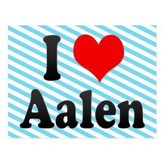 I Love Aalen, Germany. Ich Liebe Aalen, Germany Postcard
