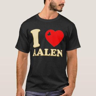 I LOVE AALEN GOLD 3D T-Shirt