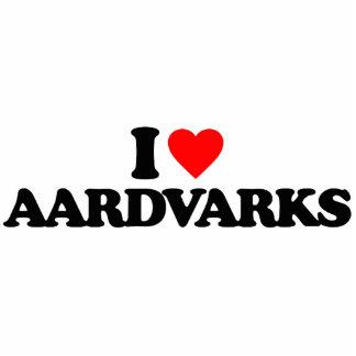 I LOVE AARDVARKS CUT OUTS