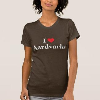 I love Aardvarks T Shirts