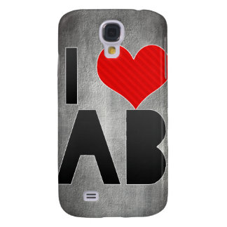 I Love AB Galaxy S4 Cases