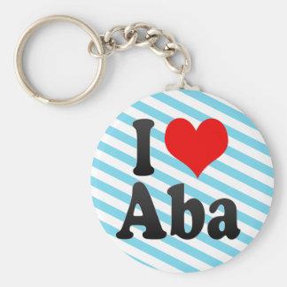I Love Aba, Nigeria Keychain