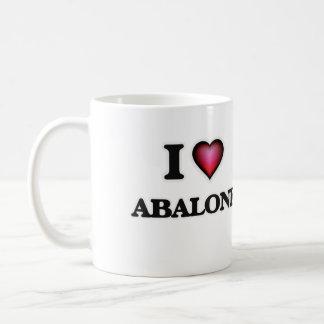 I Love Abalone Coffee Mug