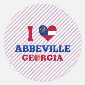 I Love Abbeville, Georgia Sticker