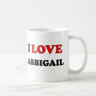 I Love Abbigail Coffee Mug