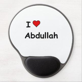 I Love Abdullah Gel Mouse Pad
