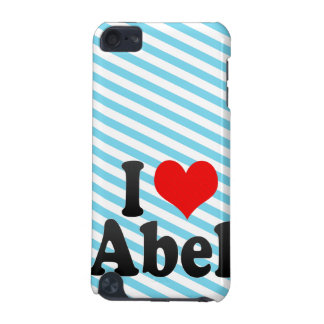 I love Abel iPod Touch (5th Generation) Case