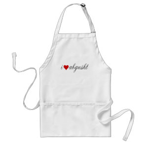 I love Abgusht Persian Beef Soup Adult Apron