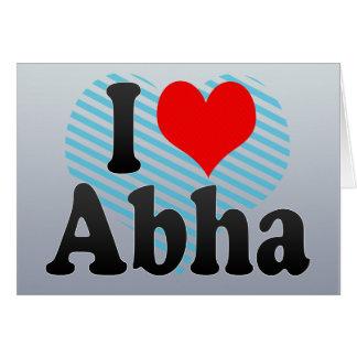 I Love Abha, Saudi Arabia Cards