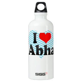 I Love Abha, Saudi Arabia SIGG Traveler 0.6L Water Bottle