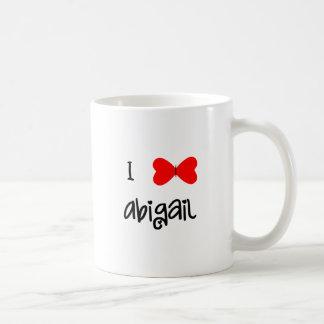 I love Abigail Coffee Mug