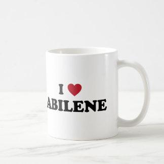 I Love Abilene Texas Mug