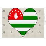 I Love Abkhazia Greeting Card