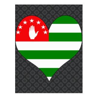 I Love Abkhazia Postcard