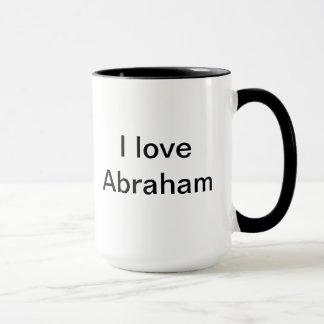 I love Abraham Mug