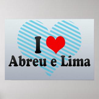 I Love Abreu e Lima, Brazil Poster