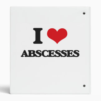 I Love Abscesses Vinyl Binder