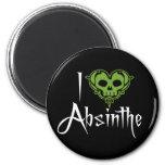 I Love Absinthe Magnets