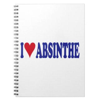 I Love Absinthe Notebook