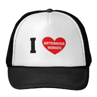 I love abtenauer Horses Trucker Hat