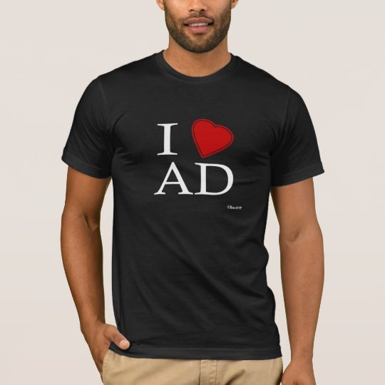 I Love Abu Dhabi T-Shirt