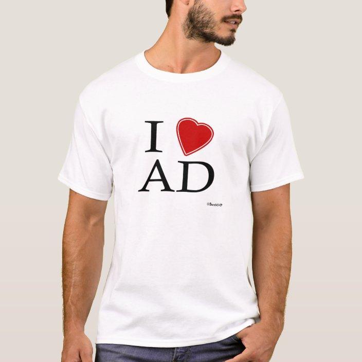 I Love Abu Dhabi Tshirt