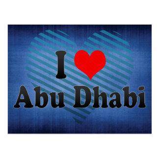 I Love Abu Dhabi, United Arab Emirates Postcard