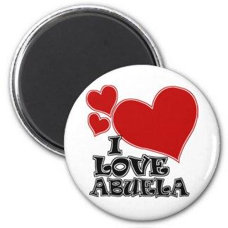 I LOVE ABUELA MAGNET