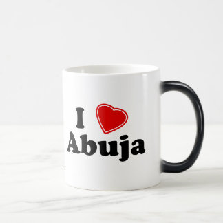 I Love Abuja Magic Mug