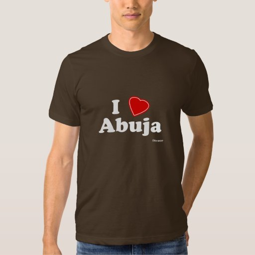 I Love Abuja T-Shirt