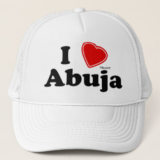 I Love Abuja Trucker Hat