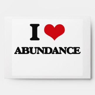 I Love Abundance Envelope