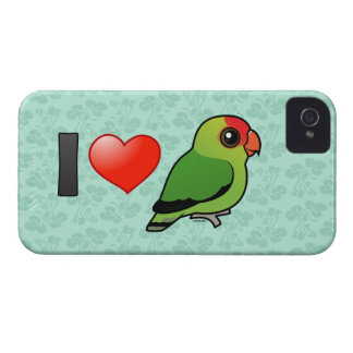 I Love Abyssinian Lovebirds Case-Mate iPhone 4 Case