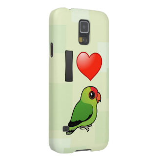 I Love Abyssinian Lovebirds Case For Galaxy S5