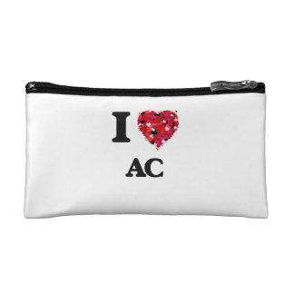I Love Ac Cosmetic Bags