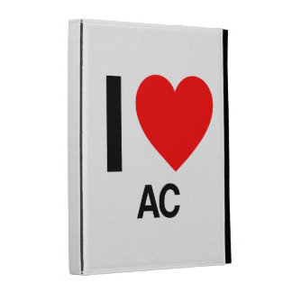 i love ac iPad folio case